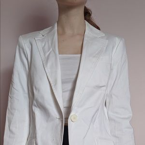 White Work Blazer